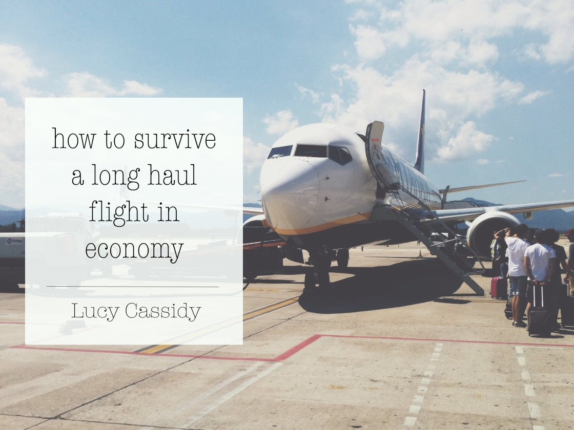 how to survive a long haul flight in economy